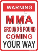 WARNING - MMA GROUND & POUND