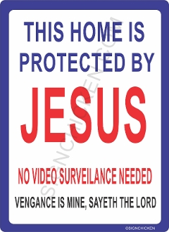 Home Protected By Jesus