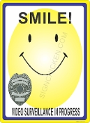 Smile You're On Video w/ Badge