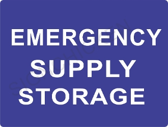 Emergency Supply Storage