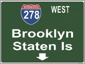 Interstate 278 Brooklyn / Staten Island
