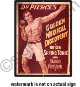 Dr. Pierce's Tonic -  Vintage Advertisement Replica