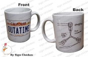 OUTATIME  - FLUX CAPACITOR Coffee Mug