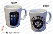 TARDIS  -  ST. JOHN AMBULANCE  Coffee Mug