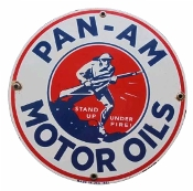 Pan-Am  Garage Sign