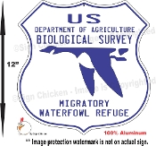 US Biological Survey -Water Fowl