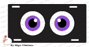 CAR EYES - PURPLE